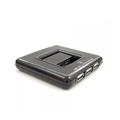 Ewent hub: 7x USB 2.0, 480Mbit/s - Grijs