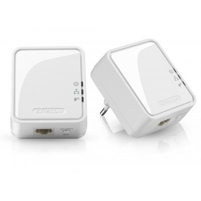 Sitecom powerline adapter: LN-551 Mini Homeplug 500 Mbps 2 Pack - Wit