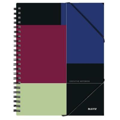 Leitz A4, 80 sheets, 90 gsm Schrijfblok - Multi kleuren