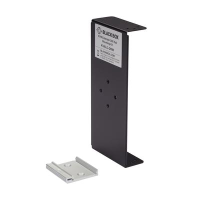 Black Box DIN Rail Mounting Kit - Zwart