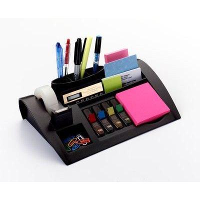 Post-it notitiepapier dispenser: Desktop Organizer, C50 - Zilver