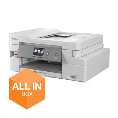 Brother Compacte A4 inkjetprinter met draadloze verbinding en automatische documentinvoer. All-In-Box bundel met .....