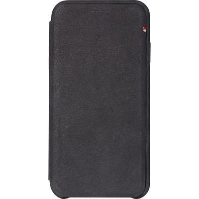 Leather Slim Wallet iPhone Xs / X - Zwart - Zwart / Black Mobile phone case