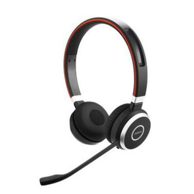 Jabra headset: Evolve 65 MS Stereo - Zwart