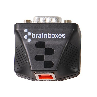 Brainboxes US-320 Kabel adapter - Zwart