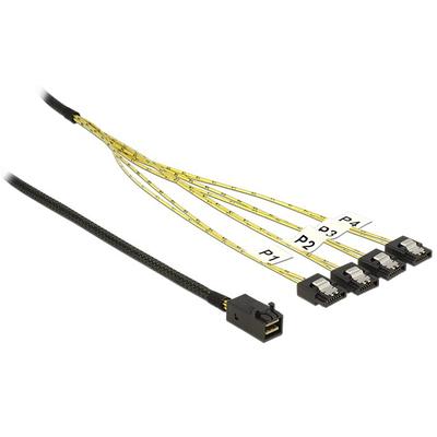 DeLOCK 83393 Kabel - Zwart, Zilver