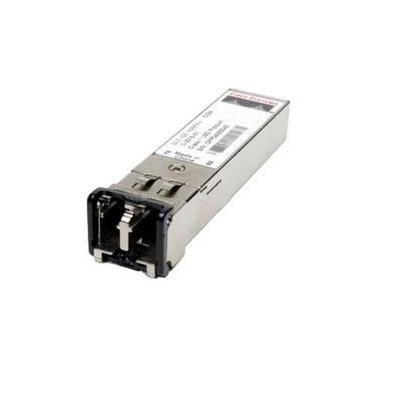 Cisco 1000BASE-SX SFP, MMF, 850-nm, dual LC/PC, Ref. netwerk tranceiver module