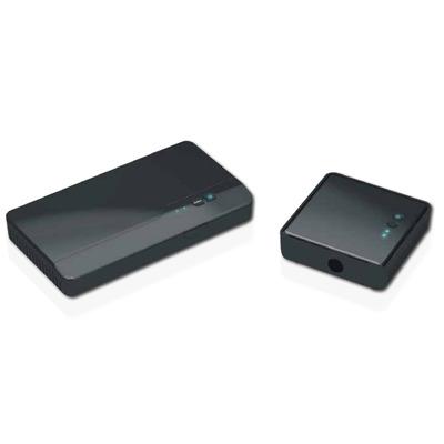 Optoma Full HD, 2D/3D 1080p, 4.9 - 5.9GHz, 100-240V AC in, 5V DC out AV extender - Zwart
