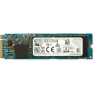 HP Z Turbo Drive Quad Pro 2x1TB PCIe TLC SSD