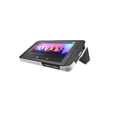 BlackBerry mobile phone case: Flip Shell - Wit