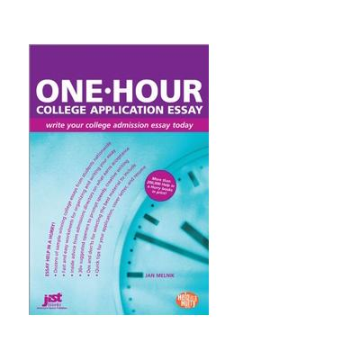 Jist publishing boek: One-Hour College Application Essay - eBook (PDF)