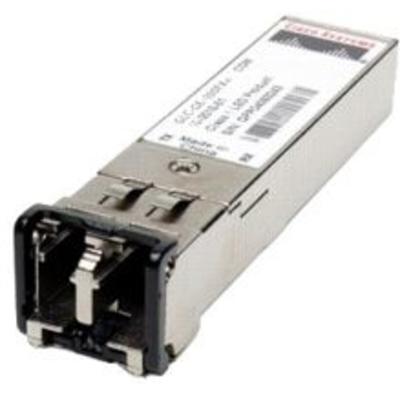 Cisco 100BASE-FX SFP transceiver module for Gigabit Ethernet ports, 1310nm wavelength, 2km over MMF Netwerk .....