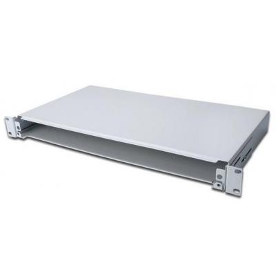 Digitus Optical Fiber Splice Box, sliding unit 1U Rack toebehoren - Grijs