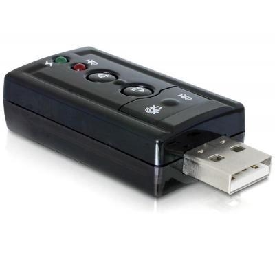 Delock geluidskaart: USB Sound / SPDIF Adapter