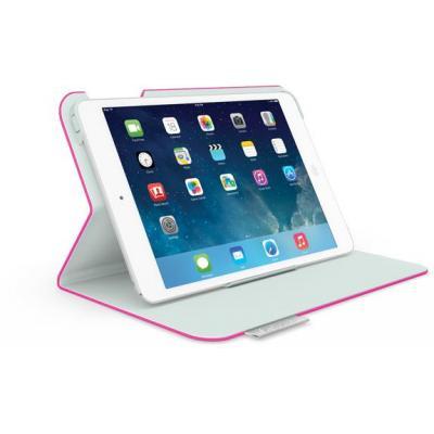 Logitech tablet case: Folio Protective Case - Grijs, Roze