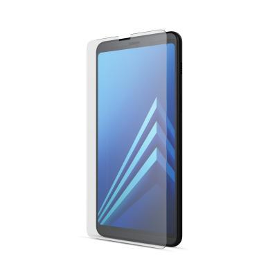 BeHello Screenprotector High Impact Glass voor Samsung Galaxy A8 (2018) Screen protector - Transparant