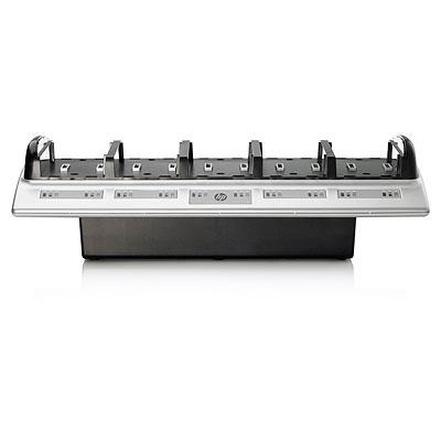 HP 10 Bay Battery Charger Oplader - Zwart