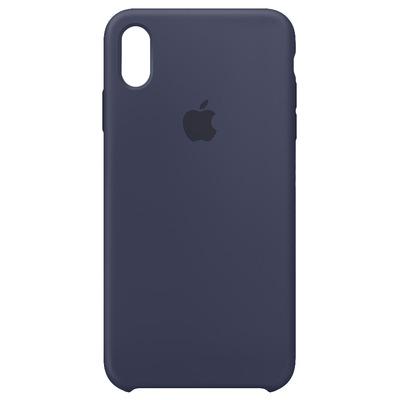 Apple mobile phone case: Siliconenhoesje voor iPhone XS Max - Middernachtblauw
