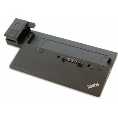 Lenovo ThinkPad Basic Dock, 65W, 3x USB 2.0, Gigabit Ethernet, VGA, Black Docking station - Zwart
