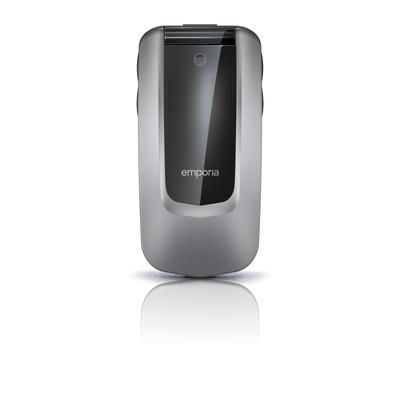 Emporia COMFORT mobiele telefoon - Zwart, Zilver