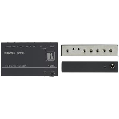 Kramer Electronics Kramer 105A Distr. Versterker Audio versterker - Zwart