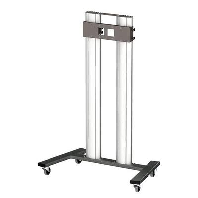 SmartMetals Ondeelbaar statief-trolley voor schermen t/m 85 inch, enkele uitvoering TV standaard - .....