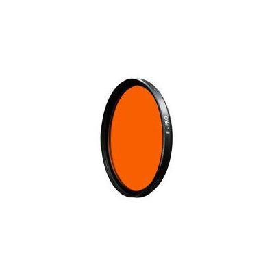B+w camera filter: 72mm Yellow Orange SC (040) - Zwart