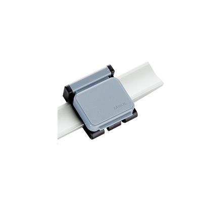 Maul papierklem: 3.6 x 4 cm, 10 pcs. - Grijs