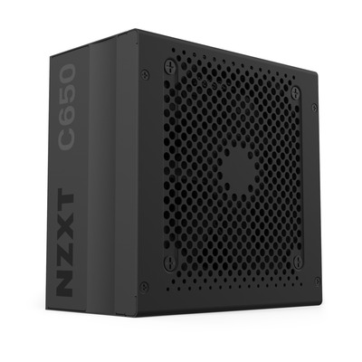 NZXT C650 Power supply unit - Zwart