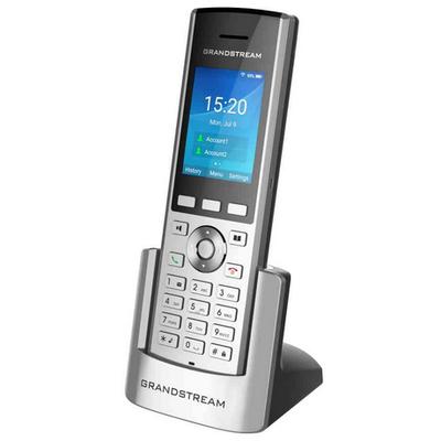 Grandstream Networks WP820 WiFi phone IP telefoon - Zwart,Zilver