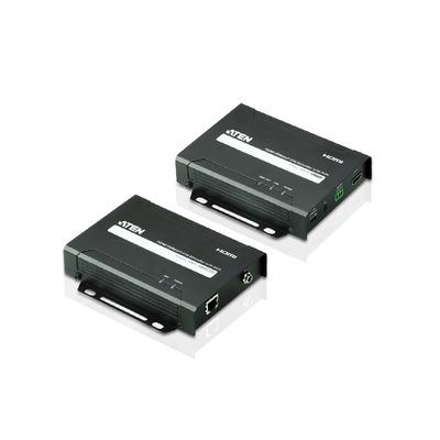 Aten VE802 AV extender - Zwart