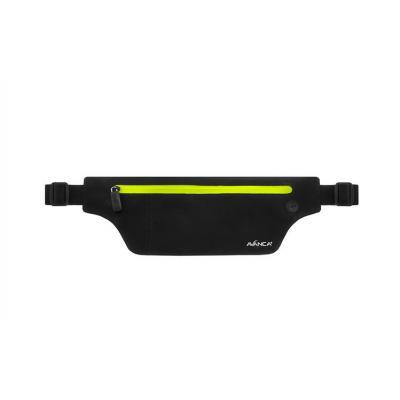 Avanca Sports Belt - Neon-geel portemonnee - Zwart, Geel