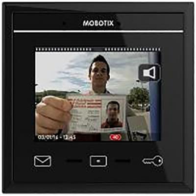 Mobotix MX-DISPLAY3-B Intercom system accessoire - Zwart