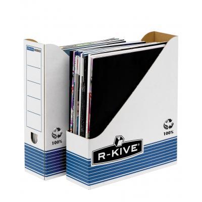 Fellowes archiefdoos: R-Kive Prima Tijdschriftcassette - Blauw, Wit