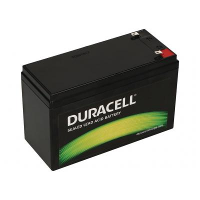 Duracell UPS batterij: 12V, 7Ah, VRLA Battery - Zwart