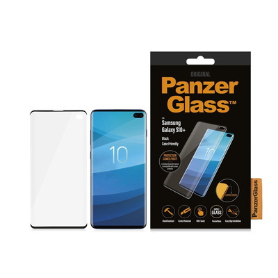 PanzerGlass Samsung Galaxy S10+ Curved Edges Screen protector - Transparant