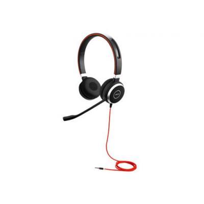 Jabra headset: EVOLVE 40 Stereo - Zwart