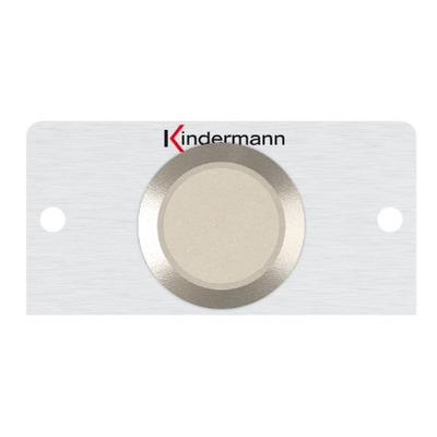 Kindermann 7444000441 Wandcontactdoos - Roestvrijstaal