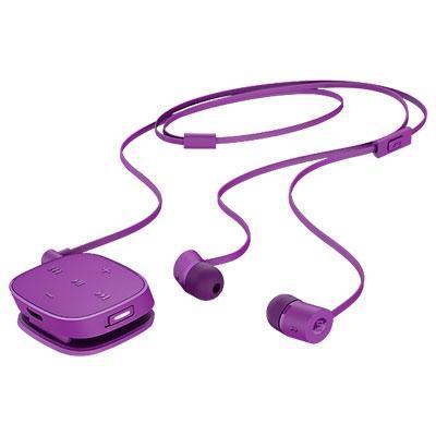 Hp koptelefoon: H5000 Neon Purple Bluetooth Headset