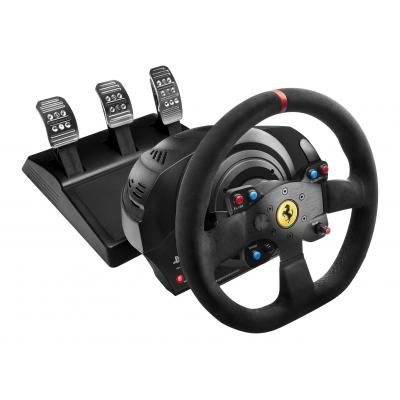 Thrustmaster game controller: T300 Ferrari Integral Racing Wheel Alcantara Edition - Zwart