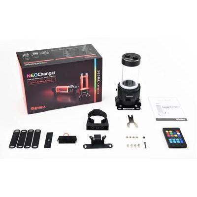 Enermax cooling accessoire: NC100RGB - Zwart, Multi kleuren