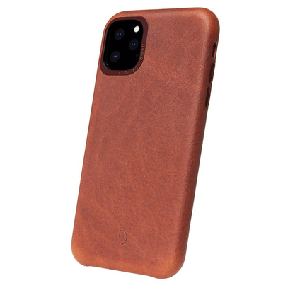 Decoded Leather Backcover iPhone 11 Pro - Bruin - Bruin / Brown Mobile phone case