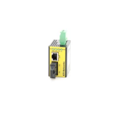 KTI Networks KFC-241-L-C Media converter - Zwart, Geel