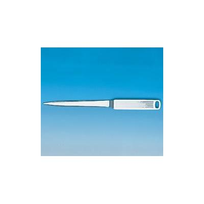 Maul briefopener: Letter Opener, Contoured Blade. Nickelled
