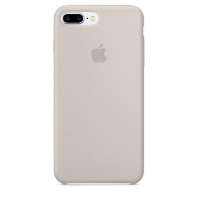 Apple mobile phone case: Siliconenhoesje voor iPhone 7 Plus - Steengrijs