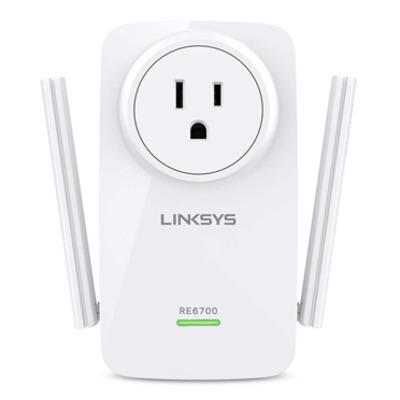 Linksys RE6700 Powerline adapter - Wit