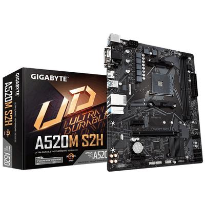 Gigabyte AMD AM4, 64GB DDR4-SDRAM DIMM, M.2,PCI Express 3.0,Serial ATA, RAID 0,1,10, UEFI AMI BIOS Moederbord