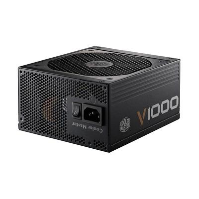 Cooler master power supply unit: V1000 - Zwart