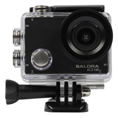 """Salora actiesport camera: Voordelige Full HD actioncamera met 2,0"""" display - Zwart"""