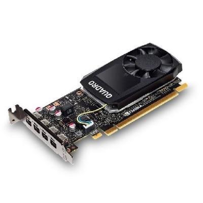 Dell videokaart: NVIDIA Quadro P1000 4 GB GDDR5 - Zwart